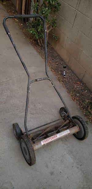 Push eco lawn mower 18 in reel for Sale in Norwalk, CA