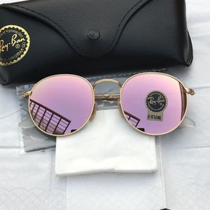 Ray Ban Round 3447 Pink Lenses Unisex Sunglasses for Sale in Miami, FL