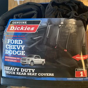 Dickies Ford Chevy Dodge Rear Seat Covers for Sale in Covina, CA
