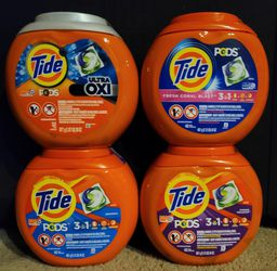 Tide Pods. 2 X $17. 4 X $33 for Sale in Glendora,  CA