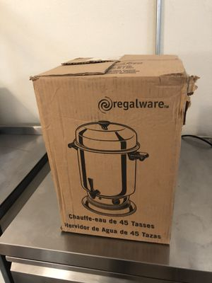 Regalware 45 Cup Coffee Urn/Percolator for Sale in Long Beach, CA