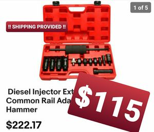 Diesel Injector Extractor Remove & Common Rail Adaptor Puller Slide Hammer for Sale in Montclair, CA