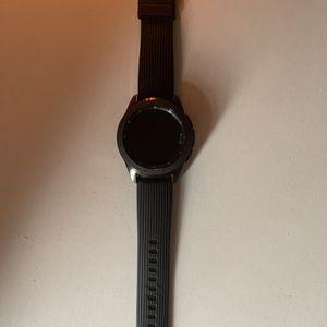 Samsung Galaxy Watch SM-R810 42mm Midnight Black Case Classic Buckle Onyx Black for Sale in Stone Mountain, GA