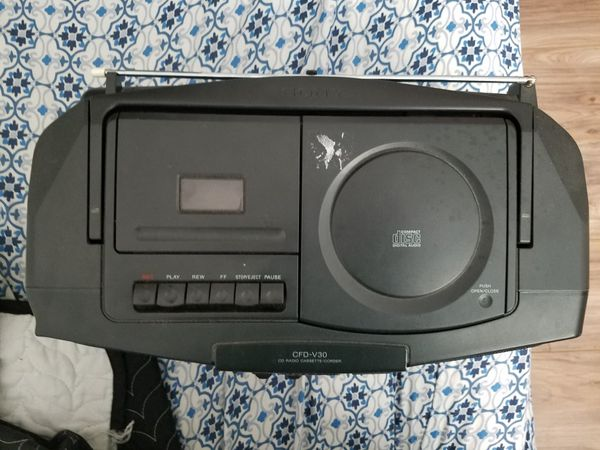 sony cfd v30 boombox