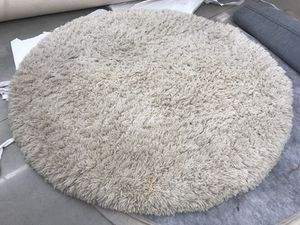 Pottery barn Cirrus shag rug 6' for Sale in Greenville, SC