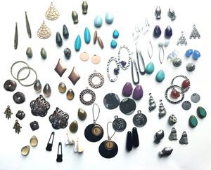 Matched pairs gems, charms, findings for jewelry making for Sale in Seattle, WA