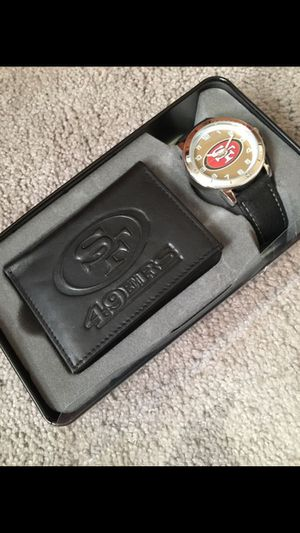 San Francisco 49ers watch and wallet gift set for Sale in Laveen Village, AZ