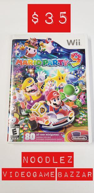 Mario Party 9 (Nintendo Wii) for Sale in South El Monte, CA