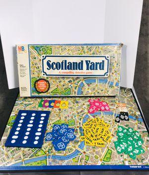 Vintage 1985 Milton-Bradley Scotland Yard Board Game for Sale in Pawtucket, RI