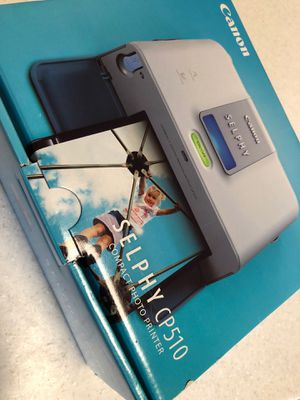 Canon SELPHY CP510 photo printer for Sale in Palmer Lake, CO