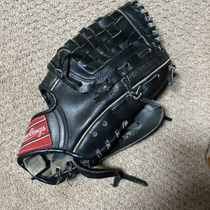 Two Baseball Mits One Black One Brown Broken In Nice for Sale in Syosset, NY