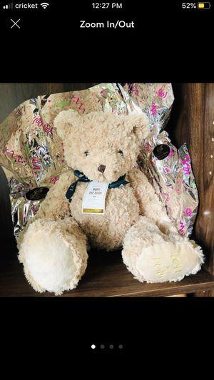 Cute Plush Teddy Bear Gift doll for Sale in San Gabriel, CA
