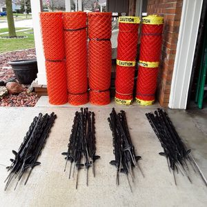 Safety fencing & posts for Sale in Bloomington, IL