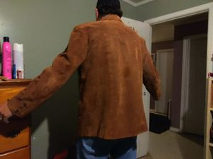 Sued coat. From Wilson's leather for Sale in Ailey, GA