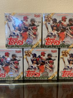 2020 Topps Holiday Mega Box MLB Baseball NEW IN HAND for Sale in Happy Valley,  OR