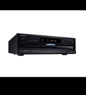 Onkyo - 6-Disc CD Player - Black for Sale in Kissimmee, FL