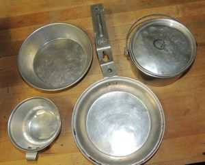 2 Vintage Boy Scout cook sets for Sale in San Angelo, TX