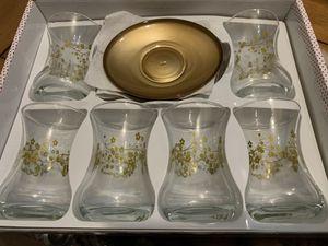 Arabic/Turkish tea cup set for Sale in Hayward, CA