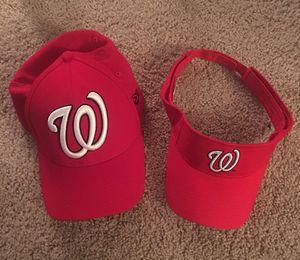 Washington Nationals Baseball Cap and Visor for Sale in Lynchburg, VA