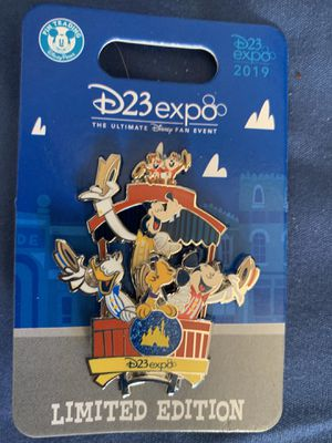 Mickey Goofy Pluto Donald Pin 2019 Disney D23 Expo Dapper Collection LE 1000 for Sale in Bell, CA