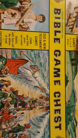 Old testament bible game chest for Sale in Endicott, NY