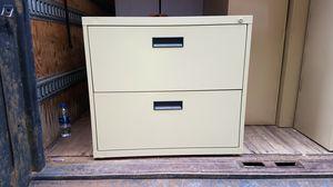 2 drawer file cabinet for Sale in Detroit, MI
