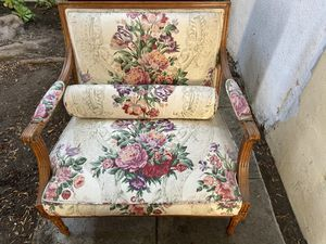 Vintage upholstered chair, from before 1950 for Sale in Los Angeles, CA