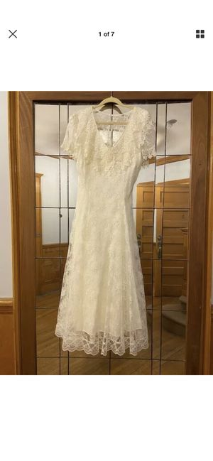 Vintage Jessica McClintock Wedding Dress. Size 9/10 for Sale in Denver, CO