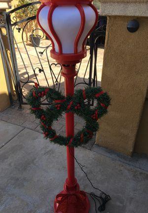Disney Mickey Christmas light pole decorations for Sale in Chula Vista, CA