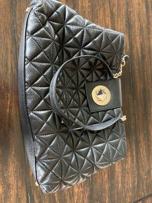 Kate Spade black leather purse for Sale in Carmel, IN