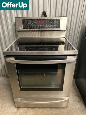 LG Glass Top Electric Stove Oven Ask for Delivery! #1254 for Sale in Orlando, FL