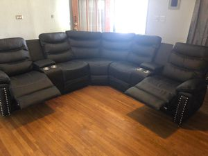 Furniture living room sectional finance available 1486 West Buckingham RD Garland, TX 75042 for Sale in Garland, TX