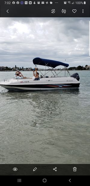 2010 Hurricane deck boat Yamaha 115 20 ft for Sale in FL, US