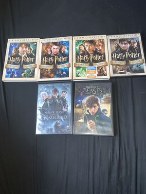 Harry Potter And Fantastic Beast Movies for Sale in Elgin, TX