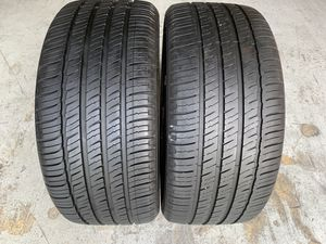 Two 235/40/18 Michelin Primacy MXV4 with 80-95% left great price both for Sale in Hialeah, FL