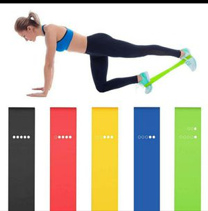 5pcs resistance band loop for Sale in San Jose, CA
