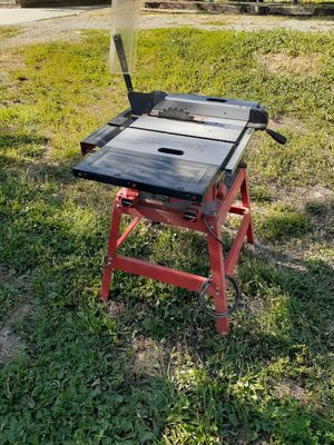 Skill saw table saw 15amp 10inch blade for Sale in Salt Lake City, UT
