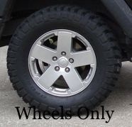 Jeep Wrangler Wheels Sahara Rubicon Willys Sport for Sale in Chelsea, MA