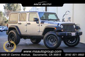 2018 Jeep Wrangler JK Unlimited for Sale in Sacramento, CA