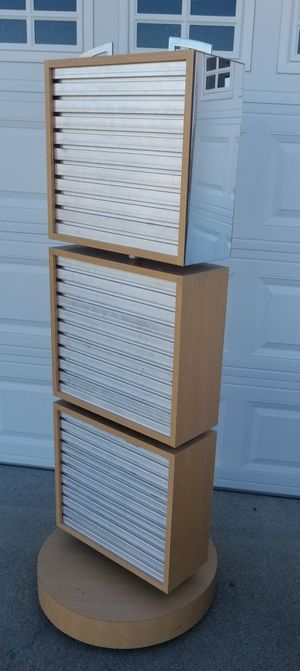 Display rack - double sided, with hooks, rotates and on wheels for Sale in Mayfield, KY