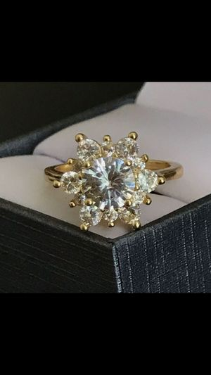 Gold plated topaz ring size 6 and 8 available for Sale in Silver Spring, MD