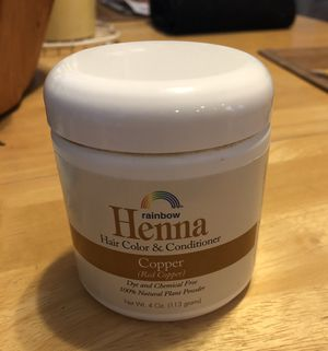 Henna copper hair color & conditioner for Sale in Oceanside, CA