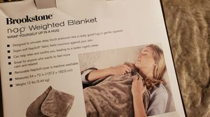 Brookstone NAP Weighted Blanket for Sale in Greer, SC