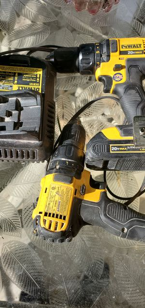 Dewalt drill used for Sale in UNIVERSITY PA, MD