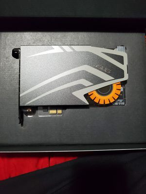 Asus sound card for Sale in Cedar Hill, TX