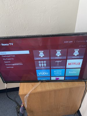 32 inch tcl tv for Sale in Buffalo, NY