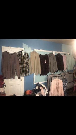Men's tops, hoodie, and cardigan bundle size: 3XL for Sale in Whittier, CA