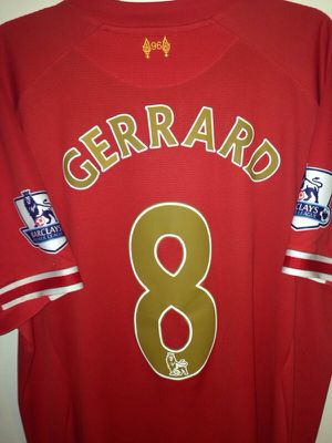 Liverpool jersey Steven gerrard for Sale in Silver Spring, MD