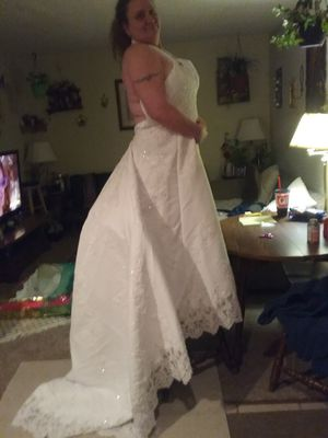 wedding dress and flower girl dress for Sale in Grandview, MO