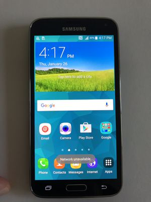 Samsung Galaxy S5 T-Mobile Black for Sale in Brooklyn, NY